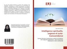 Bookcover of Intelligence spirituelle, sagesse et auto-transcendance