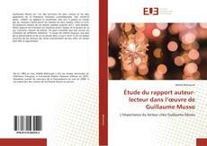 Portada del libro de Étude du rapport auteur-lecteur dans l'œuvre de Guillaume Musso