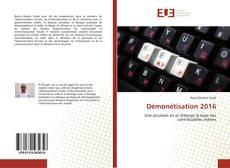 Capa do livro de Démonétisation 2016