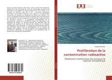 Обложка Prolifération de la contamination radioactive