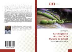 Carcinogenèse Au cours de la Maladie de Behçet kitap kapağı