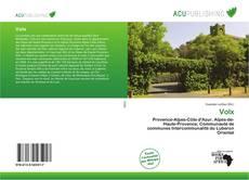 Bookcover of Volx