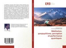 Bookcover of Méditation, panpsychisme, perception et performance quantiques