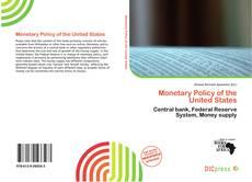 Portada del libro de Monetary Policy of the United States