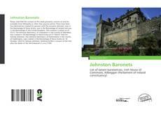 Johnston Baronets kitap kapağı