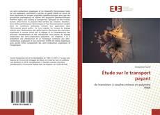 Buchcover von Étude sur le transport payant