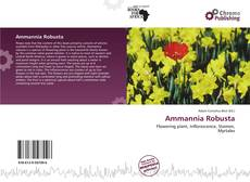 Bookcover of Ammannia Robusta