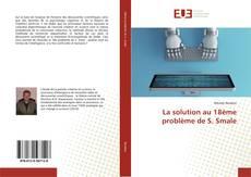 Bookcover of La solution au 18ème problème de S. Smale