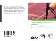 Capa do livro de 2010 Hammer Throw Year Ranking