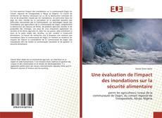 Portada del libro de Une évaluation de l'impact des inondations sur la sécurité alimentaire
