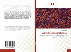 Portada del libro de Activité antimicrobienne
