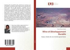 Couverture de Mine et Développement Durable