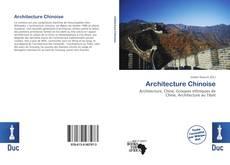 Copertina di Architecture Chinoise
