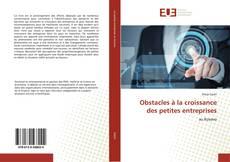 Buchcover von Obstacles à la croissance des petites entreprises