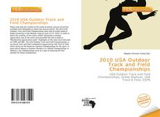 2010 USA Outdoor Track and Field Championships的封面
