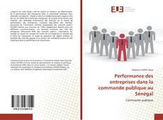 Couverture de Performance des entreprises dans la commande publique au Sénégal