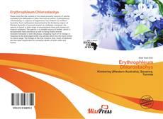 Capa do livro de Erythrophleum Chlorostachys