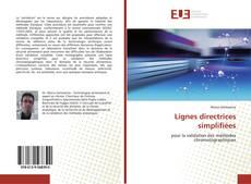 Portada del libro de Lignes directrices simplifiées