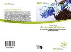 Buchcover von Erythroxylum Ellipticum
