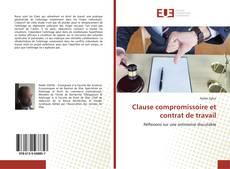 Bookcover of Clause compromissoire et contrat de travail