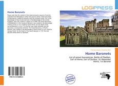 Bookcover of Home Baronets