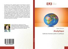 Copertina di Analytique