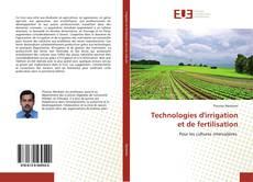 Bookcover of Technologies d'irrigation et de fertilisation