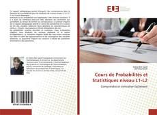 Borítókép a  Cours de Probabilités et Statistiques niveau L1-L2 - hoz