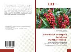 Bookcover of Valorisation de l'espèce Antidesma madagascariensis
