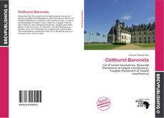 Bookcover of Colthurst Baronets