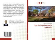 Copertina di Vue de l'enseignement supérieur