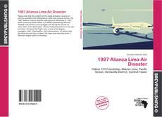 Bookcover of 1987 Alianza Lima Air Disaster