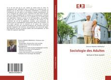 Buchcover von Sociologie des Adultes