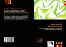 Bookcover of Architecture Expressionniste