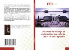 Bookcover of Pauvreté de ménage et scolarisation des enfants de 6-14 ans à Djibouti
