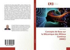 Concepts de Base sur la Mécanique des Milieux Continus (MMC) kitap kapağı
