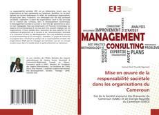 Copertina di Mise en œuvre de la responsabilité sociétale dans les organisations du Cameroun