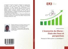 Buchcover von L'économie du Maroc : Etats des lieux et perspectives