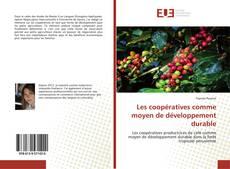 Couverture de Les coopératives comme moyen de développement durable