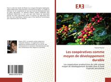 Les coopératives comme moyen de développement durable kitap kapağı