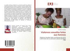 Couverture de Violences sexuelles faites aux femmes