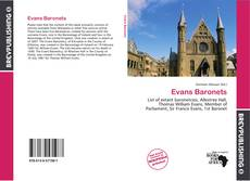 Bookcover of Evans Baronets