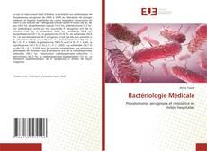 Bookcover of Bactériologie Médicale