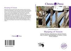 Bookcover of Hyojong of Joseon
