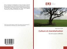 Bookcover of Culture et mondialisation