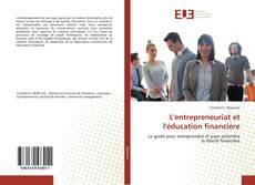 Capa do livro de L'entrepreneuriat et l'éducation financière