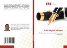 Bookcover of Sociologie haïtienne