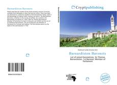 Capa do livro de Barnardiston Baronets
