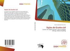 Capa do livro de Styles de Gratte-ciel