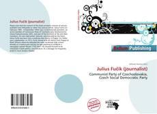 Bookcover of Julius Fučík (journalist)